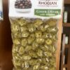 Green olive with oregano - 250 gr