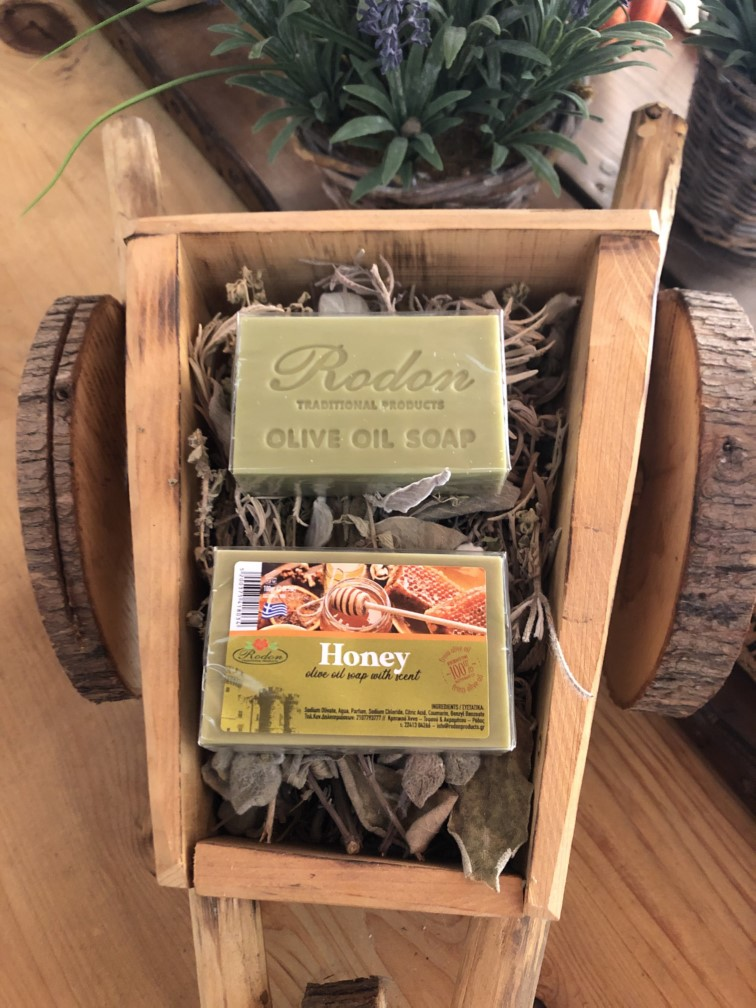 Olive oil soap Honey - 100 gr