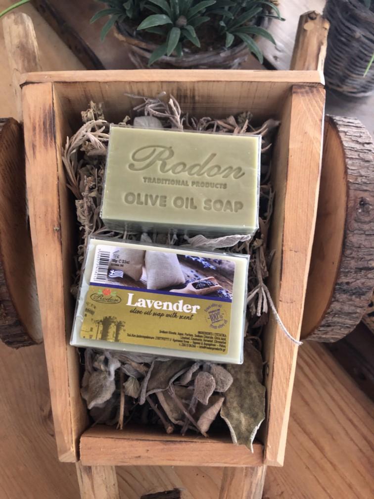 Olive oil soap Lavender - 100 gr