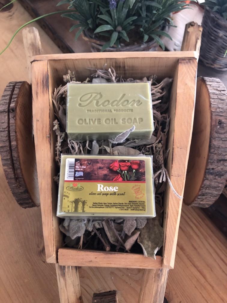 Olive oil soap Rose - 100 gr