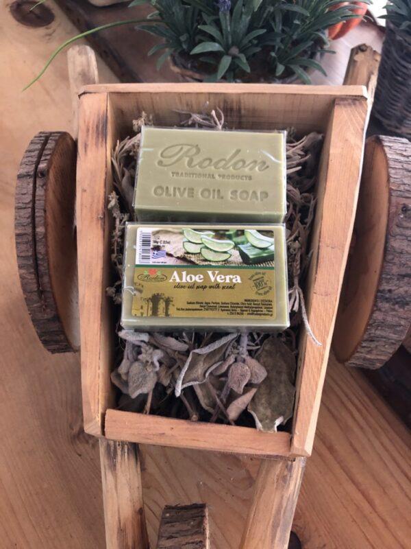 Olive oil soap aloe vera - 100 gr
