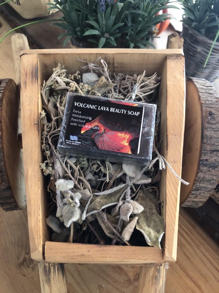 Volcanic lava soap - 100 gr